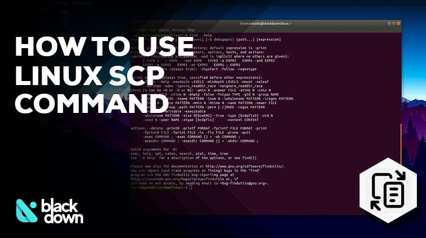 Examples on How to Use the scp Command in Linux - Blackdown