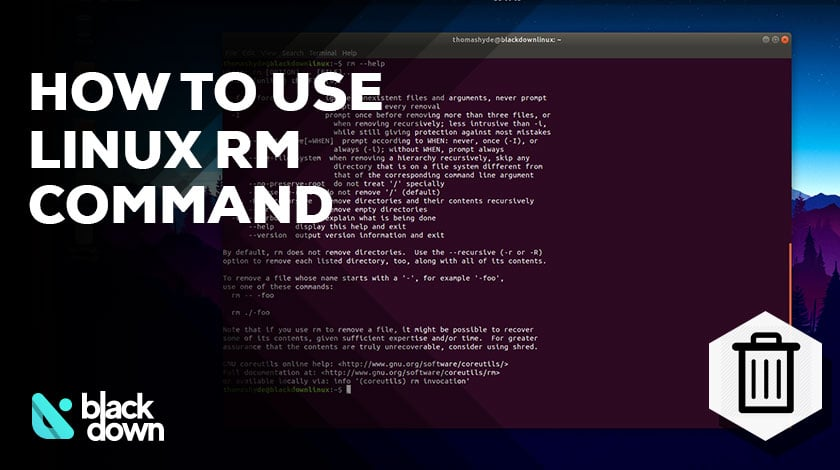 How to Use the Linux Command Line to Remove Files and Folders