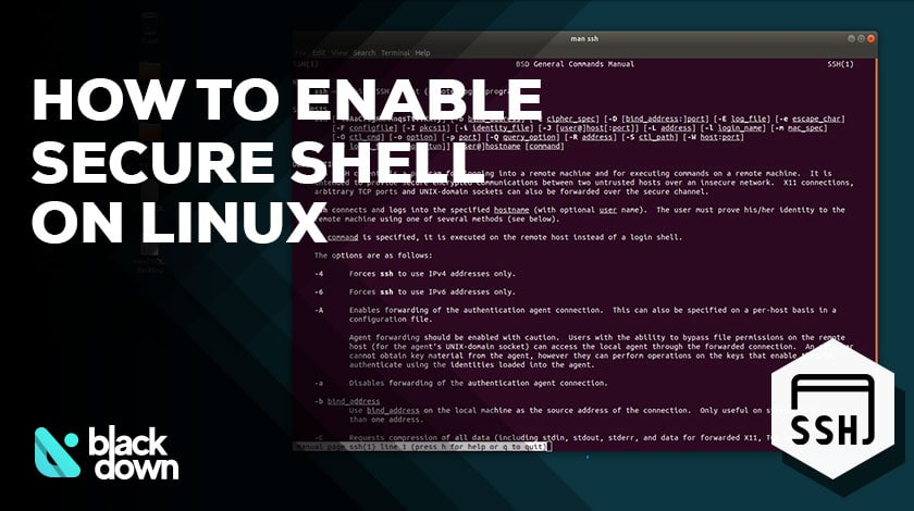 How to Enable Secure Shell (SSH) on Ubuntu Linux