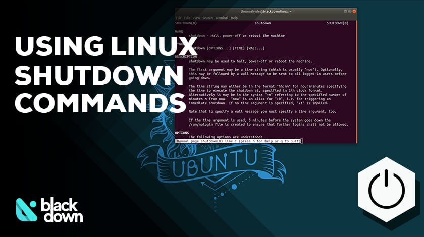All You Should Know about Linux Shutdown Commands
