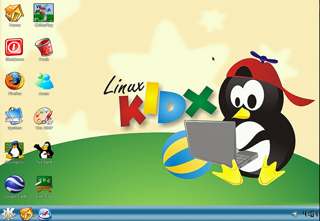 LinuxKidX Distro Preview