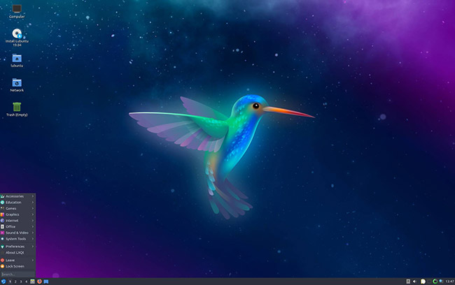 Lubuntu Desktop Preview