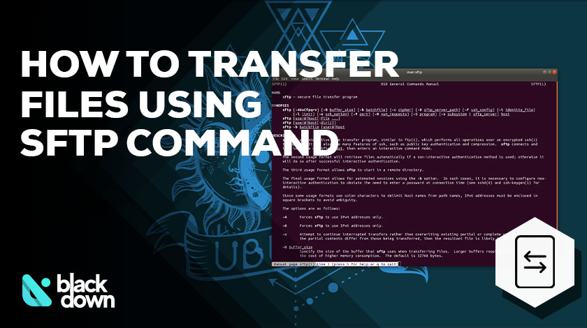 How to Transfer Files Using SFTP Command