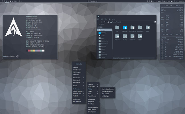 ArchLabs Linux 2020.05.04