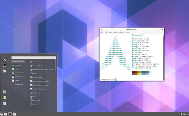 ArcoLinux Cinnamon 20.6.6