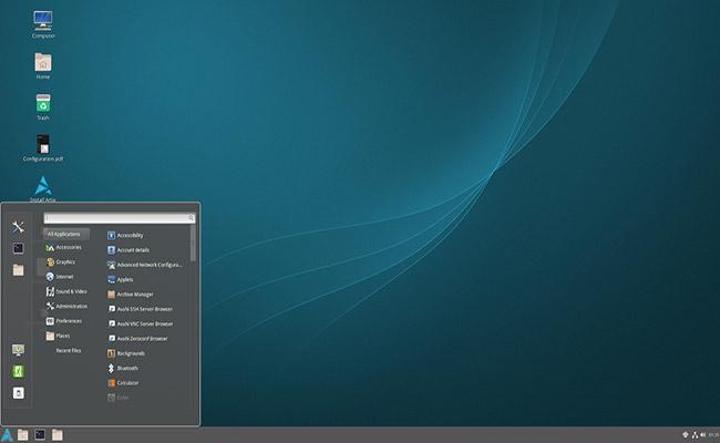 Artix Linux 2020 02