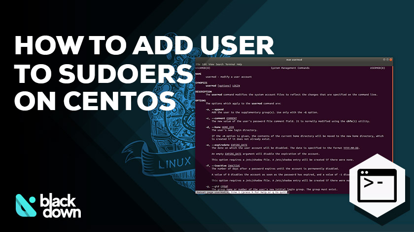 How to Add User to Sudoers or Sudo Group on CentOS 7