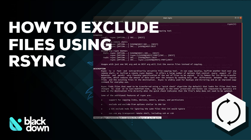 How to Exclude Files and Directories Using Rsync