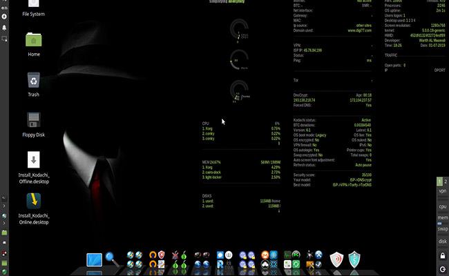 Linux Kodachi 7.1