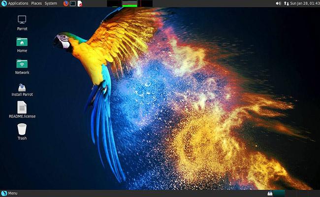 Parrot OS 4.9.1