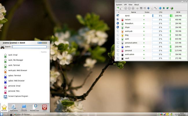Qubes OS 4.0.3