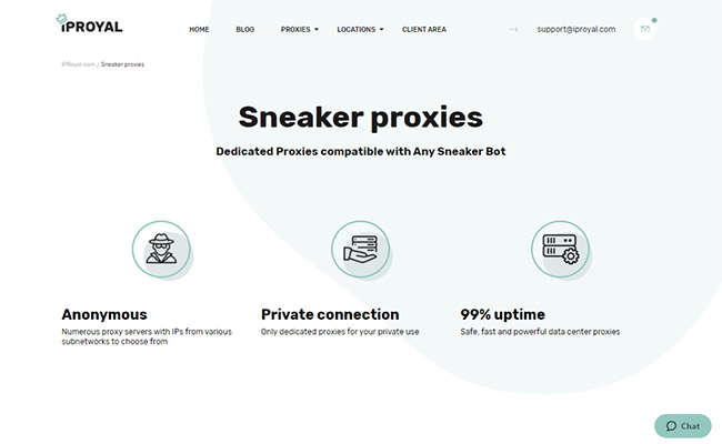 IPRoyal Sneaker Proxies