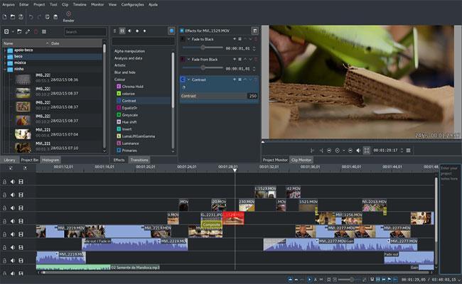 Kdenlive-Linux-Video-Editor