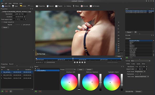 Shotcut-Linux-Video-Editor
