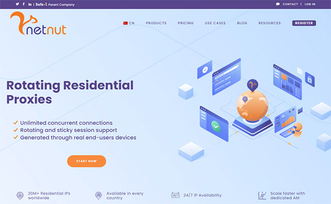 NetNut Residential Proxies