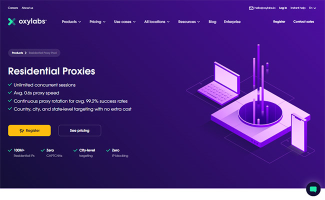 Oxylabs Residential Proxies