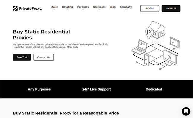 PrivateProxy.me Residential Proxies