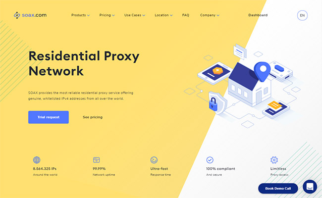 SOAX Residential Proxies
