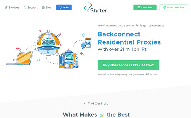 Shifter Residential Proxies