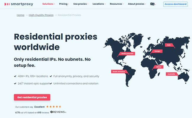 Smartproxy Residential Proxies