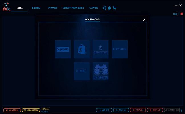 AIO Bot Interface